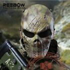Tactical Mask Camouflage Wargame Airsoft Paintball Full Face Protection Skull