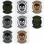 Ghost Recon morale military Full Embroidery Patch Badges