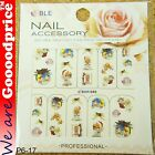 Color Printing Water Tranfer Nail Art Stickers Gift Christmas Style 6-17