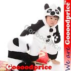 Panda Baby Costume [For Baby Boy & Girl, Halloween Party, Romper Outerwear]