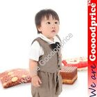 Grande Toilette Baby Costume Party Dress With Bow-Tie & Waistcoat 3-18Month