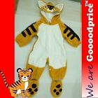 Baby Costume Tiger Romper Unisex Jumpsuit Birthday Party Halloween Christmas