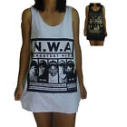 NWA Unisex Vest Tank-Top Singlet (T-Shirt Dress) Sizes S M L XL