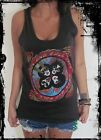 Kiss Vest Tank-Top Singlet (T-Shirt Dress) Sizes S M L XL