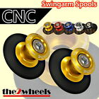 CNC Billet Racing Swingarm Spools Sliders M10 for Kawasaki Ninja 300 12+