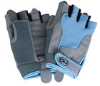 Fitness Mad Women's Cross Training Gloves - Grey/Blue