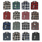 NWT Eddie Bauer Soft Plaid Flannel Men Long Sleeve Shirt in 20 Model Size M/L/XL