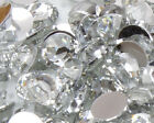 Clear Crystal Flat Back Nail Art Rhinestones Gems 2MM-6MM Glitter Beads