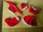 Clearance SALE CHRISTMAS Card Toppers Dress, Hat, Bag, Pudding, Cupcake, Tree,