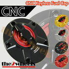 CNC 1/4 Rapid Quick Lock Keyless Fuel Gas Cap YAMAHA YZF R1 2000-2014