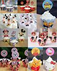 Frozen Mickey Minney SpiderMan Minions Princess Winnie Cake Toppers Wrappers