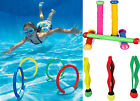 Intex Underwater Swimming Pool Dive Colourful Play Sticks Rings Balls Water Toys