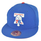 NBA Mitchell Ness TK40 Philadelphia 76ers Alternate Fitted Hat Cap