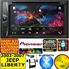 LIBERTY PIONEER CD USB AUX DVD VIDEO BT TOUCHSCREEN Bluetooth Car Radio Stereo