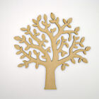 MDF Tree Shape craft blank - make your own Wooden Family Tree