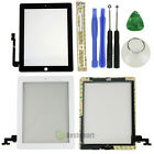 Touch Screen Glass Digitizer Assembly for The New iPad 3 4 2 Mini Black/White