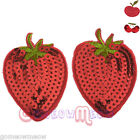 Sexy Womens Lady Red Color Fruit Pasties Breast Nipple Covers Sticker