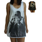 **Unisex Johnny Depp Vest** Tank Top Singlet T-Shirt **Sizes S-XL**