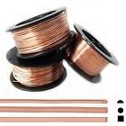 Pure Copper Wire, Round-Half Round-Square 12 14 16 18 19 20 21 22 24 26 Gauge DS