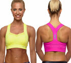 Blockout Ladies Cross Fit Jogging Control Sports Bra workout running crop top