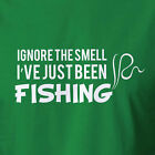 Funny Fishing T-shirt Ignore The Smell I've Just Been Fishing Clothing Top