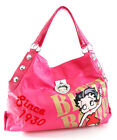 SET Betty Boop FUCHSIA 1930 Series Heart Rhinestone Hobo Purse Wallet SET