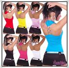 Sexy Ladies Summer Vest Top Women's Party Everyday Top One Size 6,8,10,12 UK