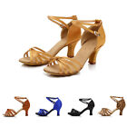 Ladies Professional Latin Dance Shoes Tango Adjustable Ballroom Shoes All Size