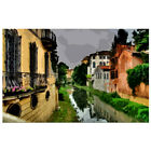 "Needlepoint canvas ""Venice.Roads"""