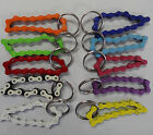 Bike Chain Key Chain Ring Bicycle 1/2 x 1/8 Links 4 Inches long