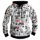 "BREAKING BAD LOS POLLOS ""HEISENBERG"" ZIP UP HOODIE NEW"