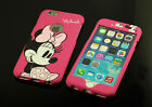 for Apple iPhone 5 5S 6 & Plus Minnie Mouse Dual Back Front Case cover Defender