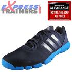 Adidas Mens AdiPure 360 Mesh Running Shoes Gym Trainers Navy *AUTHENTIC*