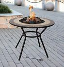 VERONA Firepit Table, Outdoor BBQ, Chair Set Available, RAIN COVER, ICEBOWL