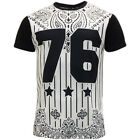 Mens T-Shirts Soul Star Short Sleeve T Shirt 'Yolan' New