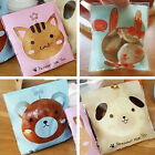 Cute Animal Cookie Biscuit Cello Cellophane Gift Sweet Candy Wrapping Party Bags
