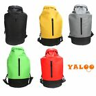 Portable Waterproof Duffel Dry Zipper Backpack barrels Bag Outdoor Camping