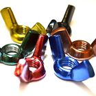 M5 GWR Colourfast® Wing Nuts - A2 Stainless Steel - Coloured Nut
