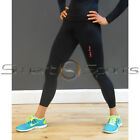 Ladies CORE Black Sport Gym Compression Skin Tight Leggings XS-XL 6-16 TFx