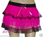 NEON PINK  RARA  SKIRT 80's FANCY DRESS TUTU