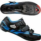 Shimano Men's R107 Dynalast performance Road Bike Race SPD-SL Shoe Blue/Black