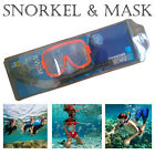 Snorkel Mask Set Snorkelling Diving Swimming Equipment Scuba Goggles Diver Gear