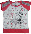 Girls Minnie Mouse T-shirt Pretty with sequins  3-4 up to 11-12 Years100% Cotton