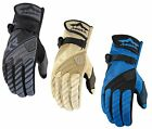 Icon Raiden DKR Dual Sport Waterproof Motorcycle Riding Gloves ALL SIZES