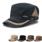 Men Women Classic Army Plain Hat Cadet Military Baseball Sport Cap Adjustable