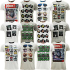 Mens T-Shirts Brave Soul Short Sleeve T Shirt Mod Retro Designer Top Pack of 2