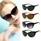 4 Colors Lady Sexy Retro Vintage Round Circle Dark Lenses Cat Eye Sunglasses
