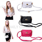 Women's Faux Leather Fashion Purse Shoulder Satchel Crossbody Messenger Handbag
