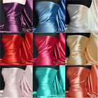 Light-Medium weight ultra sheen soft satin fabric bridal bridesmaid material