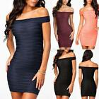 Sexy Womens Bandage Slim Fashion Bodycon Party Cocktail Evening Pencil Dress C41